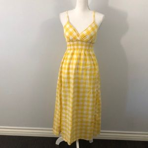 Dresses & Skirts - Yellow picnic dress